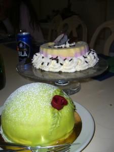 Tårtor!