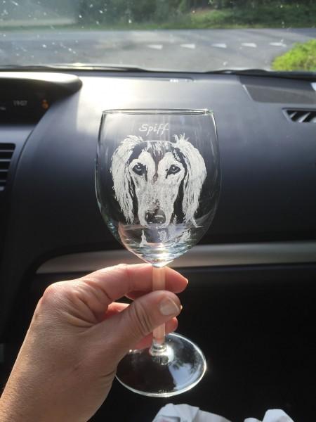 Spiffs fina glas från Marita och Thomas!