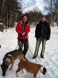 Djiin och Dixie med Anneli