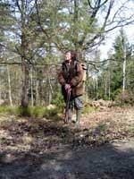Matte, på rymmen från sin hund Ullis
