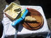 Fika på Jockes goda bröd