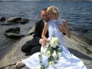 Nu är vi gifta!