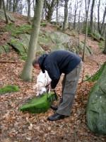 Hugo och Jocke hittar korv