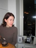 Anneli på middag