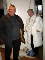 Pappa Ralf, hunden Hugo och Mamma Nunne
