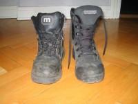 En gammal och en ny sko